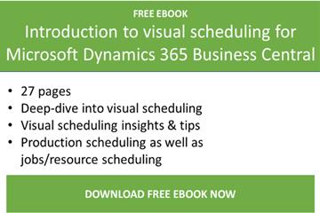 VARCHART XGantt关于Microsoft Dynamics 365商业中心的视觉计划简介