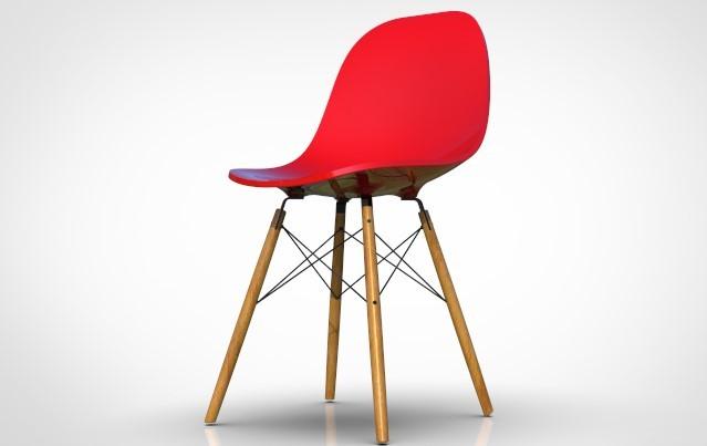 SolidWorks模型免费下载:椅子
