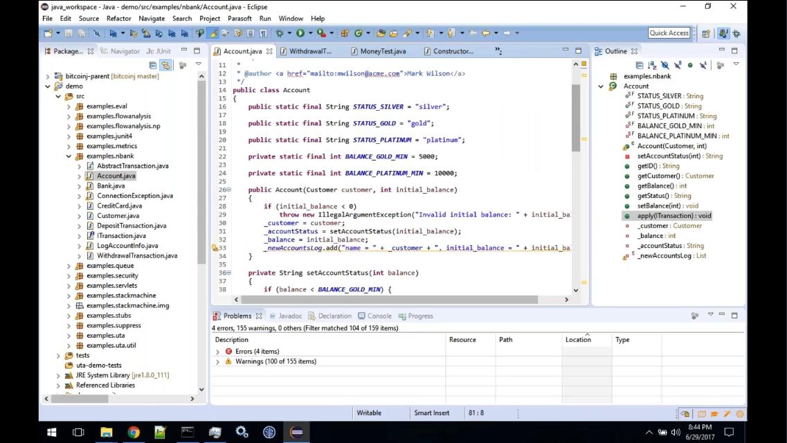 Parasoft Jtest:运行中的单元测试助手