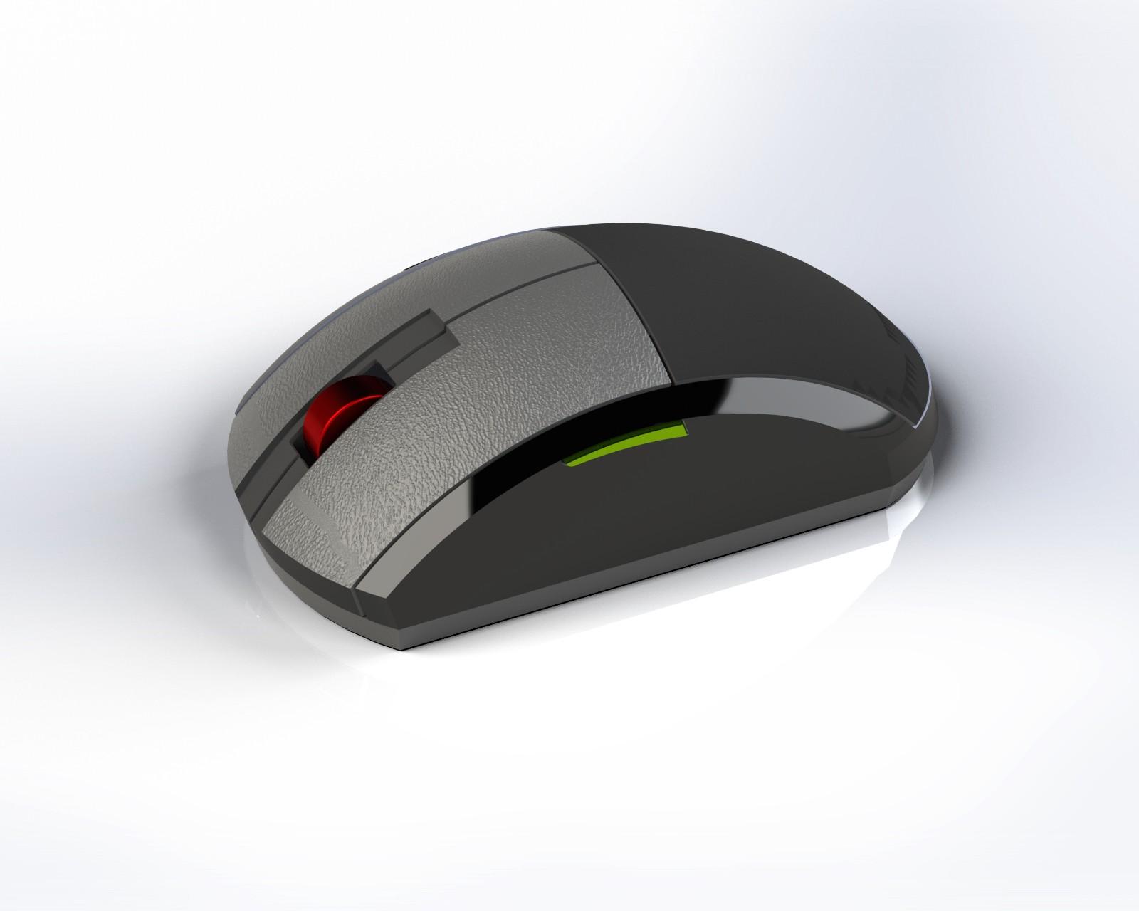 SolidWorks模型免费下载:鼠标