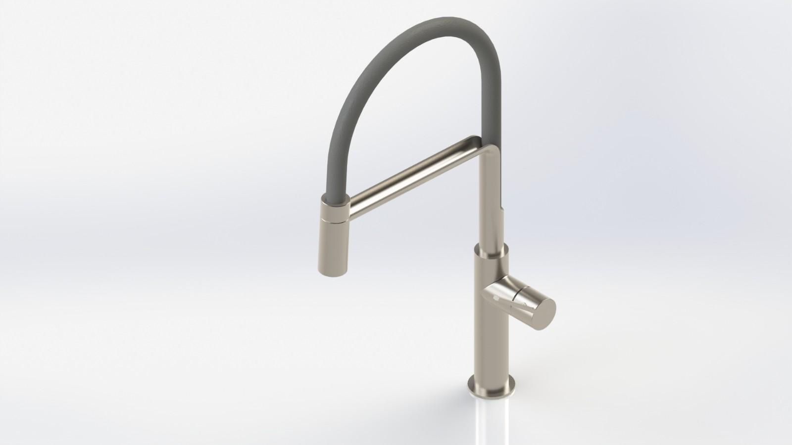 SolidWorks模型免费下载:厨房水龙头