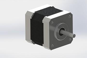 SolidWorks模型分享:步进马达Nema17 免费下载