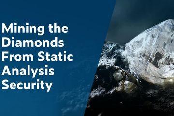 从静态分析安全性测试中挖掘钻石