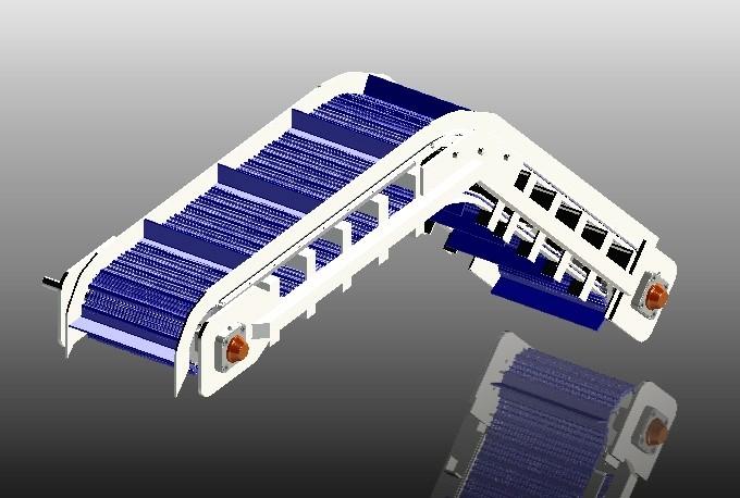 SolidWorks模型免费下载:用于脱水的输送带