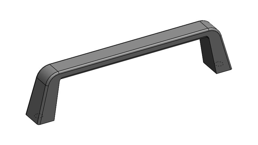SolidWorks模型免费下载:Darshana 手柄