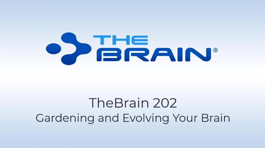 【TheBrain网络研讨会】如何优化思维结构,整理发展您的brain