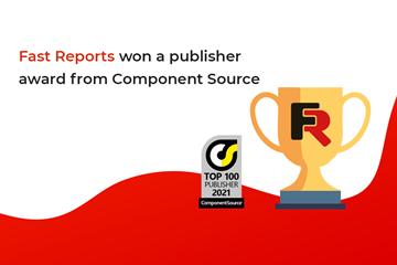 Fast Reports被评为2021年最好的软件创建者之一