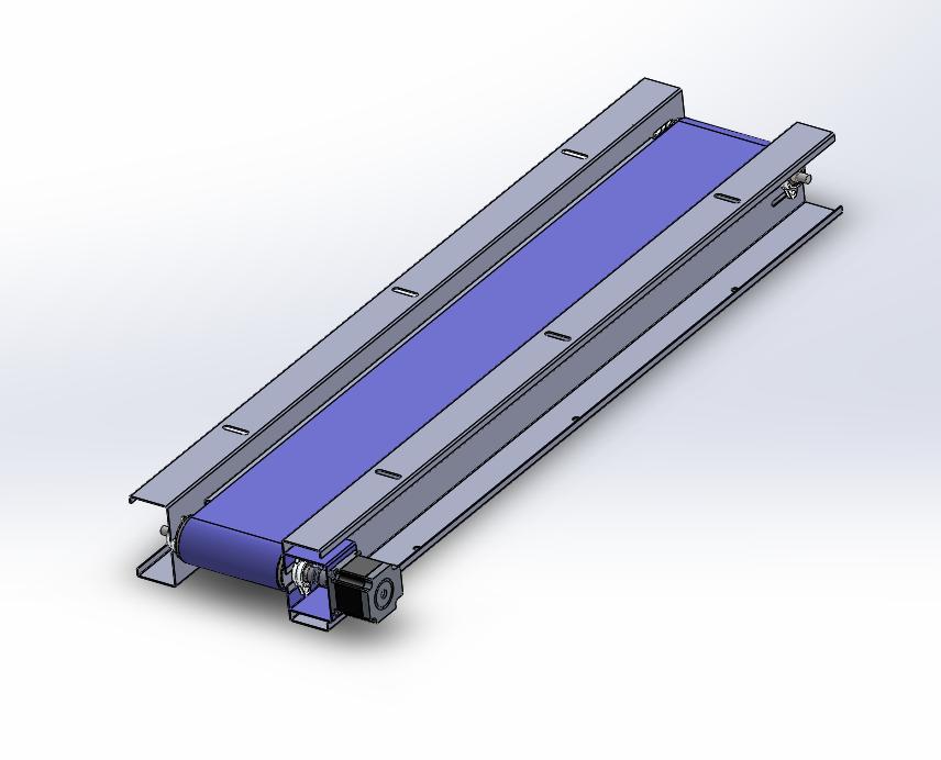 SolidWorks模型免费下载:输送带