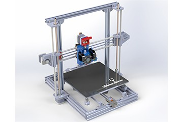 SolidWorks模型免费下载:3D打印机