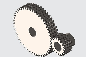 SolidWorks模型免费下载:正齿轮