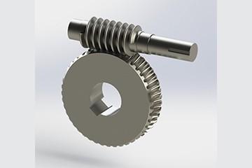 SolidWorks模型免费下载:蜗轮