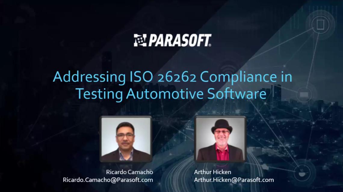 如何使用Parasoft通过自动化标准所需的多种测试方法来降低成本