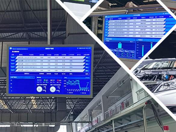MES系统电子看板在企业生产中的重要应用