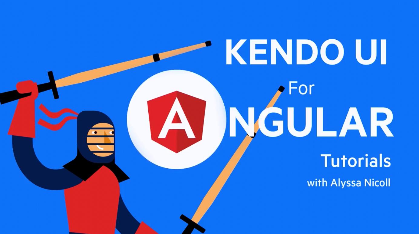 Kendo UI for Angular入门视频:如何使用 Angular DropDowns?