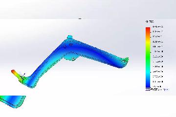 SOLIDWORKS Simulation教程:计算物体的固有频率