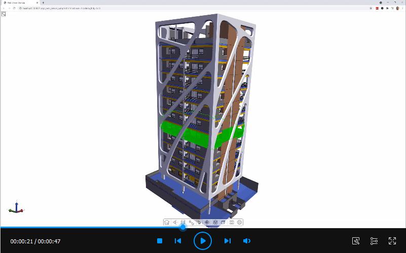 HOOPS COMMUNICATOR 2021 SP2最新版亮点:增加了新的着色模式