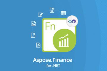Aspose.Finance for .NET v21.8试用下载