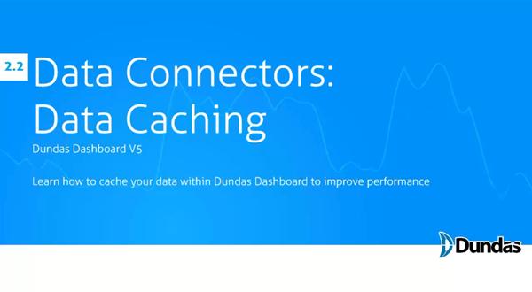 Dundas Dashboard:数据缓存