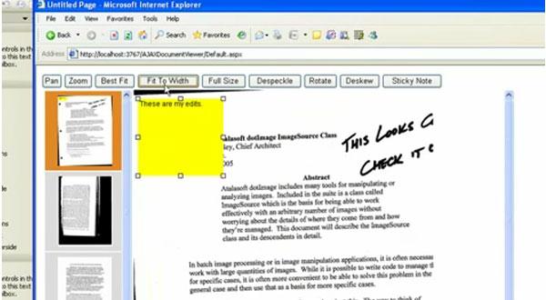 DotImage使用教程:利用WebAnnotationViewer实现Web注释