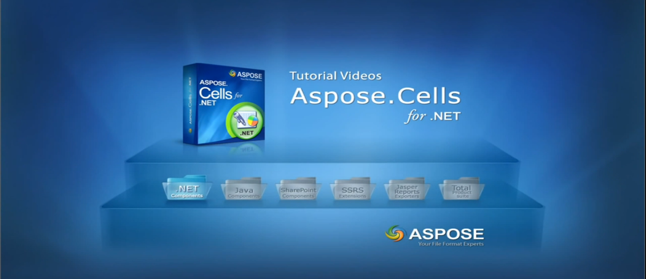 Aspose.Cells for .NET视频教程系列(19):使用Aspose.Cells将Excel文件转换成PDF文件