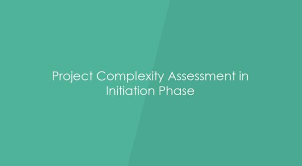 Visual Paradigm项目管理教程:如何执行项目复杂度评估
