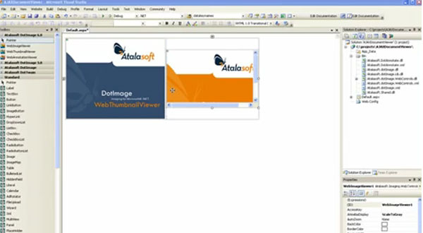 如何利用DotImage创建Web文档查看器