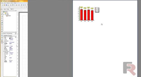 FastReport VCL视频教程十九:创建有固定数据的图表