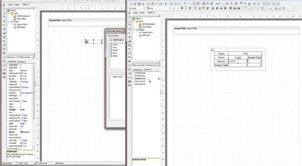 FastReport VCL视频教程四:用Objects创建交叉表