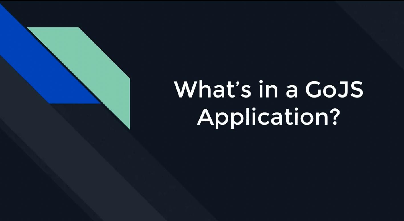 GoJS入门教程系列—第一辑 GoJS JavaScript应用程序