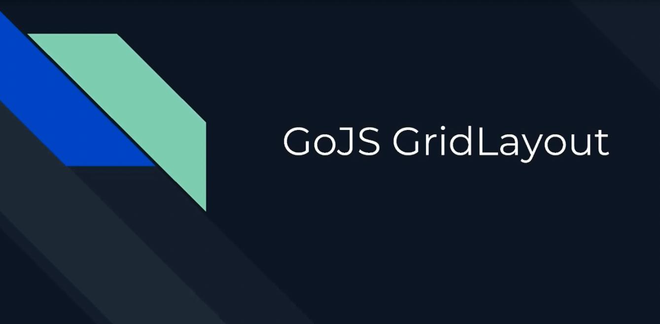 GoJS布局(二):网格布局