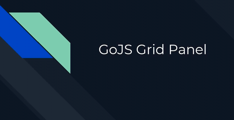 GoJS面板(二):网格面板