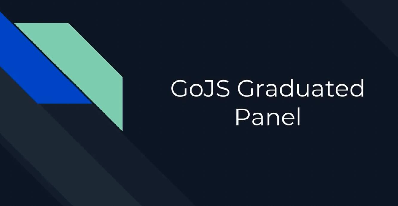 GoJS面板(三):Graduated面板