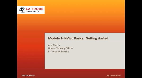 NVivo 入门教程