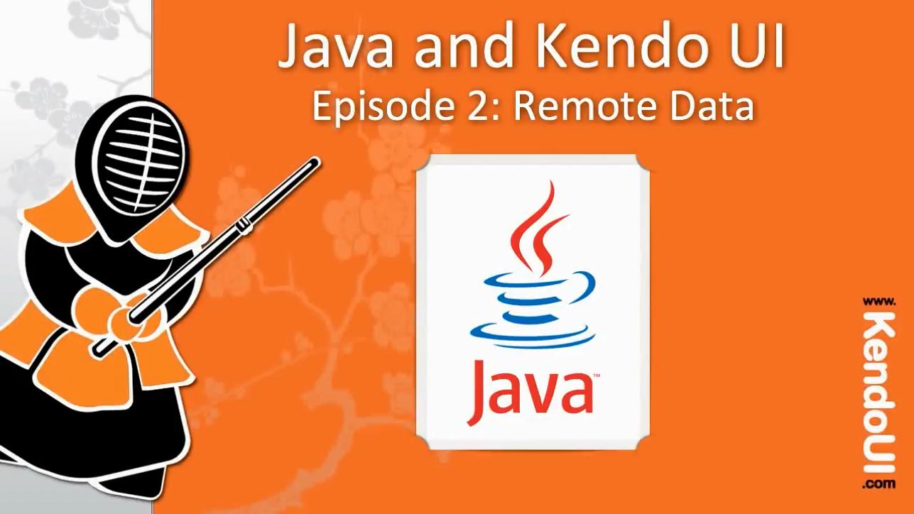 Kendo UI使用教程第6集 - 远程数据