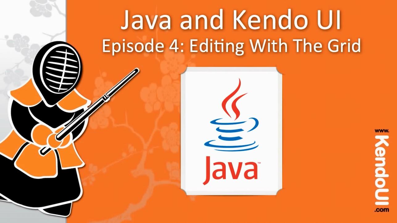 Kendo UI使用教程第8集 - 使用Grid网格编辑