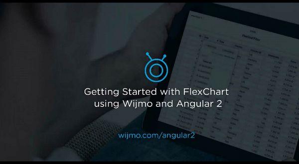 使用Angular 2启用Wijmo FlexChart