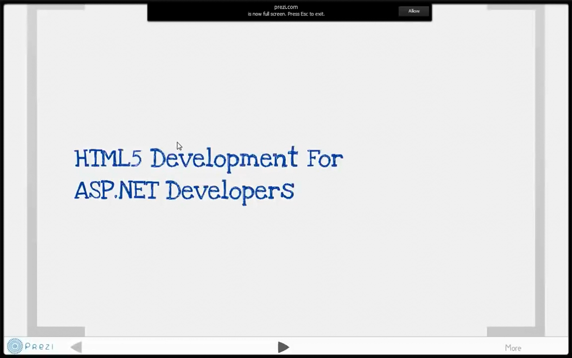 ASP.NET开发人员的专属HTML5开发(第4单元)- Hello Kendo UI 第2部分