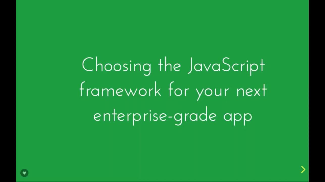 如何为您接下来的企业应用程序选择正确的JavaScript框架(Angular,Vue,React)