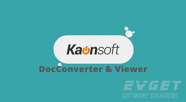 Kaonsoft移动应用概述(4):Kaonsoft DocConverter & Viewer