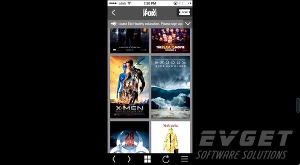 Kaonsoft应用程序演示(9):Kaonsoft Mobile Movie Reservation