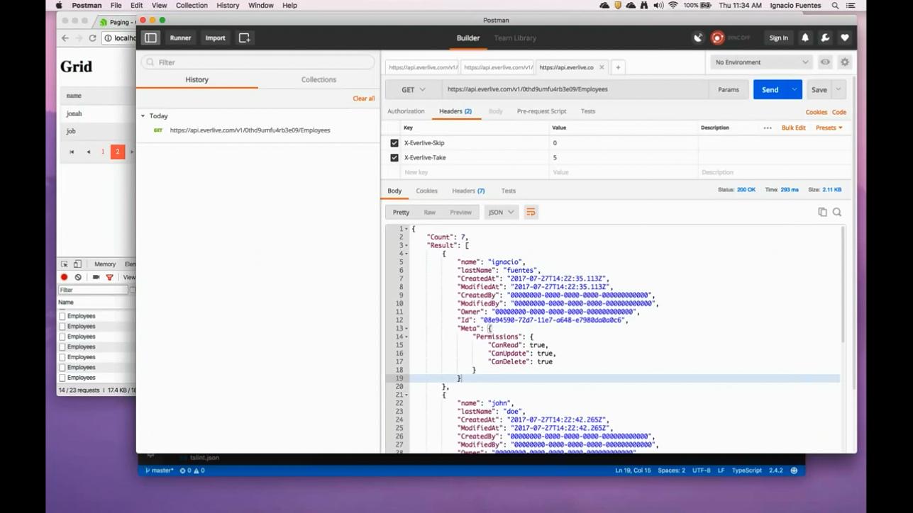 Kendo UI使用教程第10集 - 在Angular中实现数据表的分页和排序
