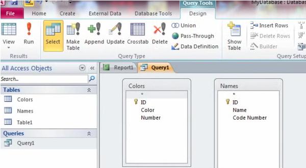 利用Access Query实现邮件合并IDAutomation条形码