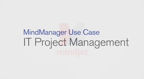 MindManager用例:IT项目管理