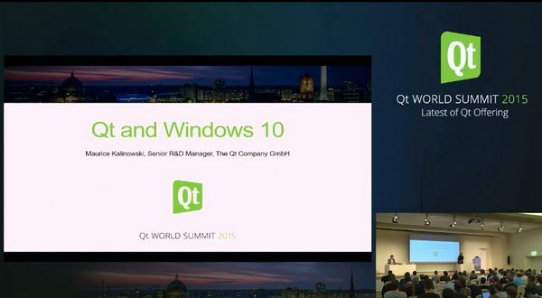 Qt Enterprise:Qt和Windows 10