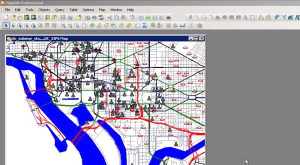 MapInfo Professional 11.5的图例设计窗口介绍