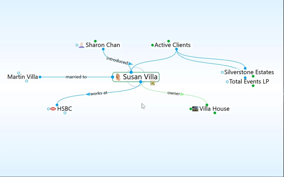TheBrain9功能教程:连接类型