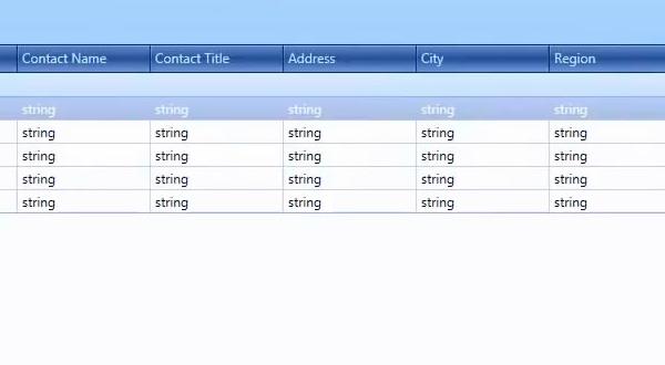 DevExpress WPF视频教程:Grid数据绑定