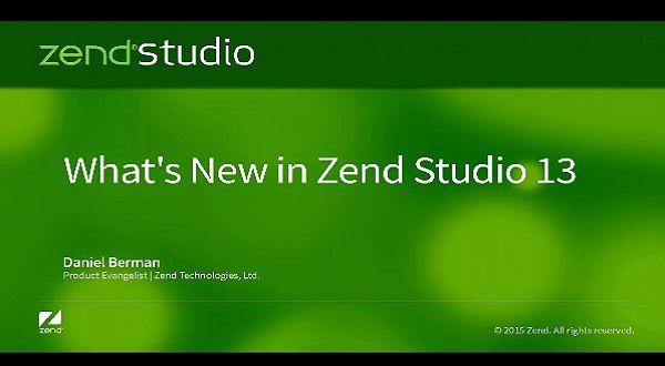 Zend Studio v13新版更新介绍
