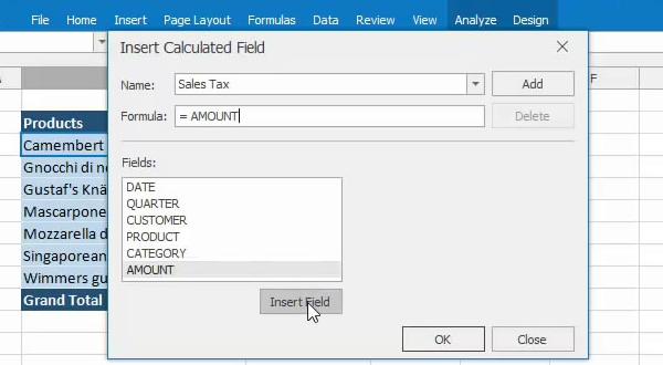DevExpress 2016.1新版预告:Pivot Table支持自定义计算公式