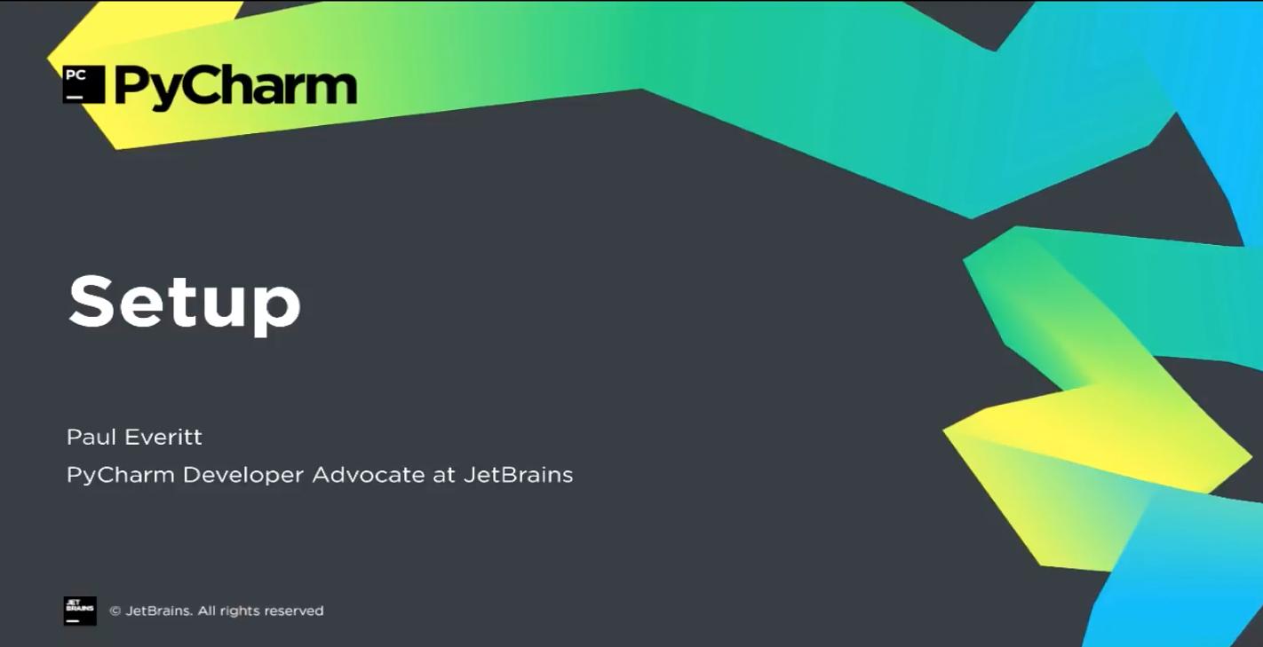 PyCharm入门视频教程:1-8 安装程序